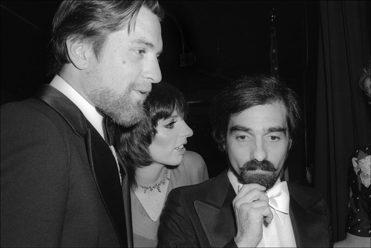robert de niro, liza minnelli and martin scorsese
