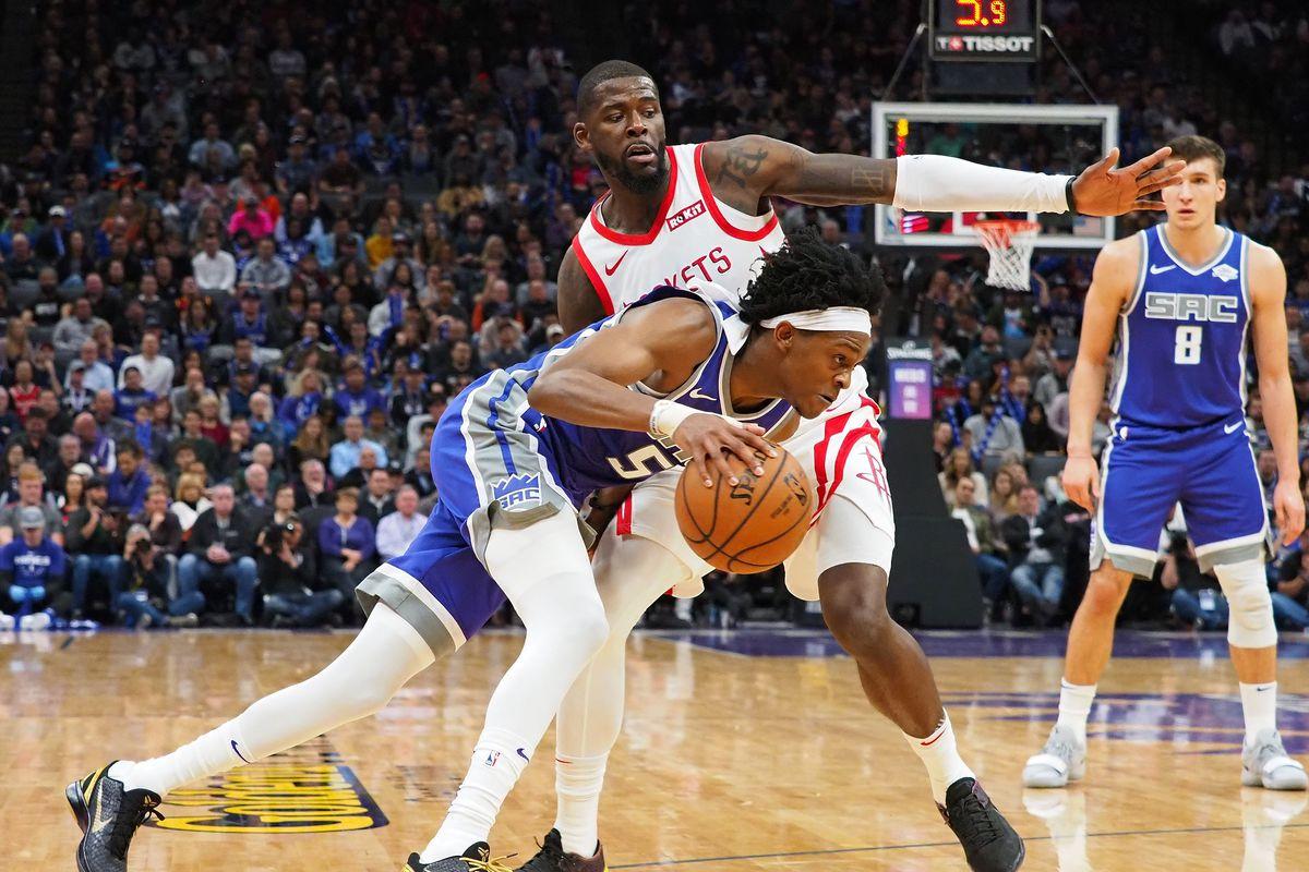 NBA: Houston Rockets at Sacramento Kings