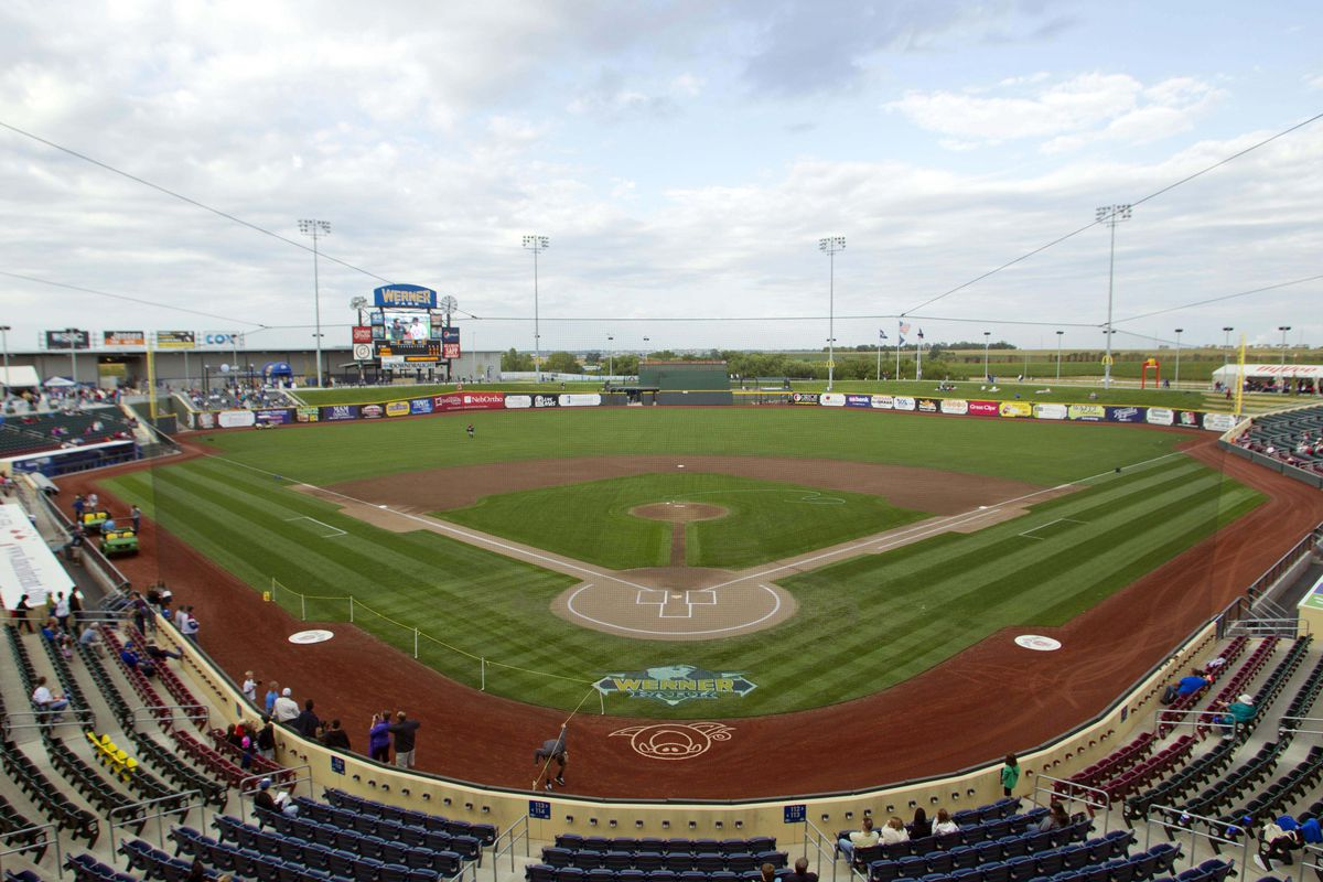 Aug 18, 2012; Papillion, NE, USA; A general view of Werner Park before the game between the Nashville Sounds and Omaha Storm Chasers. Mandatory Credit: Matt Ryerson-US PRESSWIRE