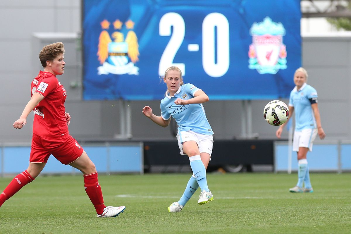 Soccer - FA Women's Super League Continental Cup - Group Two - Manchester City Women v Liverpool Ladies - City Football Academy Stadium