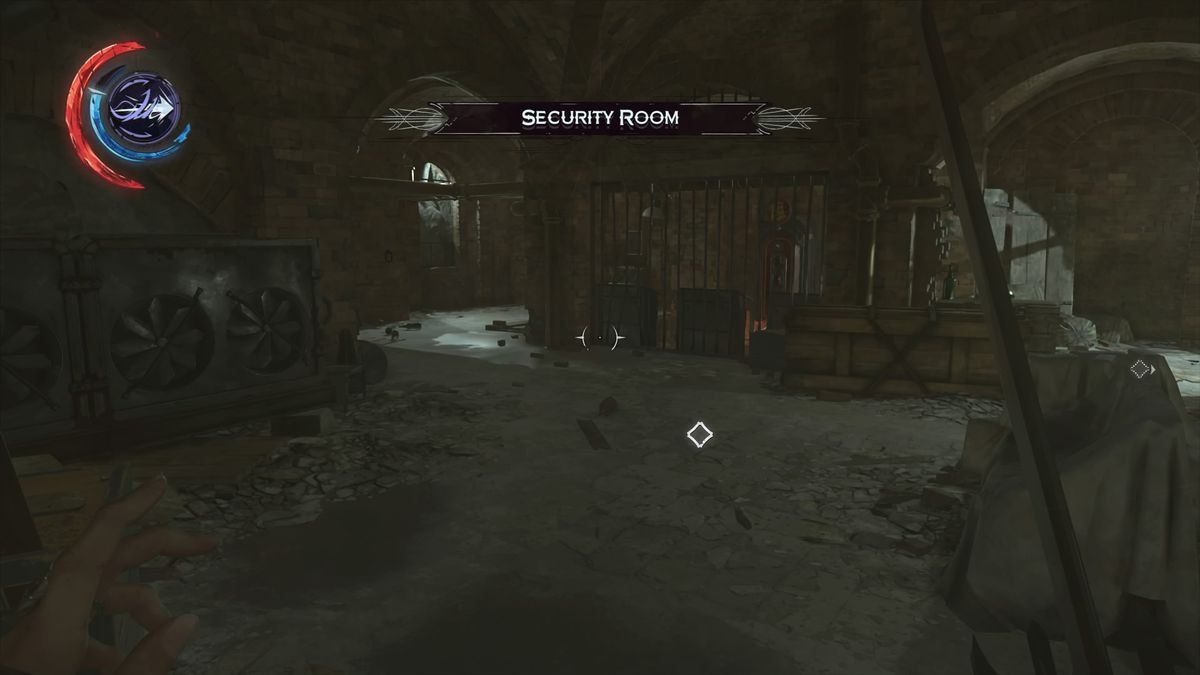 Dishonored Wall Oil Room