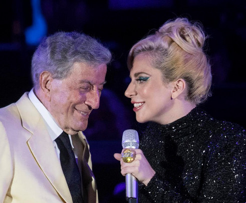 Tony Bennett and Lady Gaga | Craig T. Mathew/Mathew Imaging