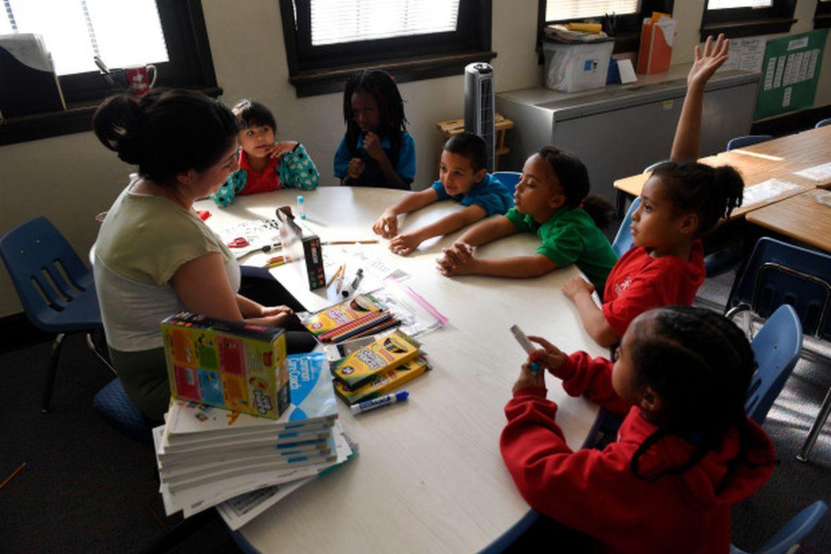 An afterschool program at Denver's Ashley Elementary School.