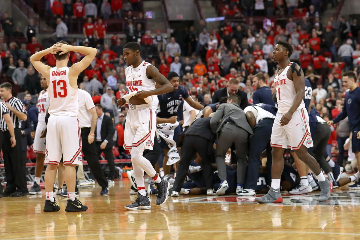 COLLEGE BASKETBALL: JAN 25 Penn State at Ohio State