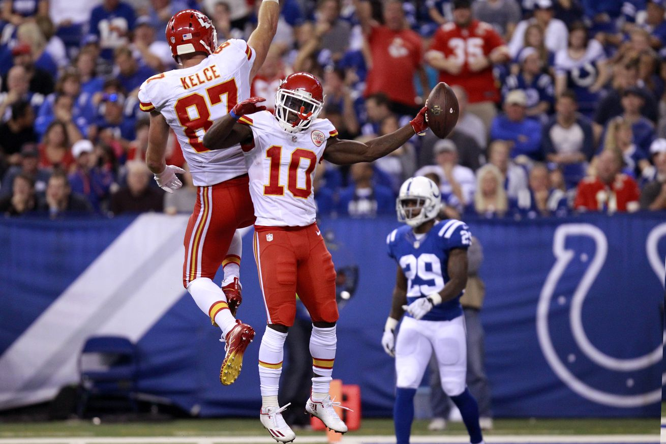 NFL: OCT 30 Chiefs at Colts