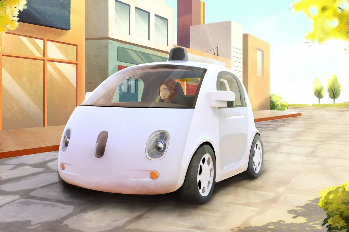 Google's New Self-Driving Car Ditches the Steering Wheel