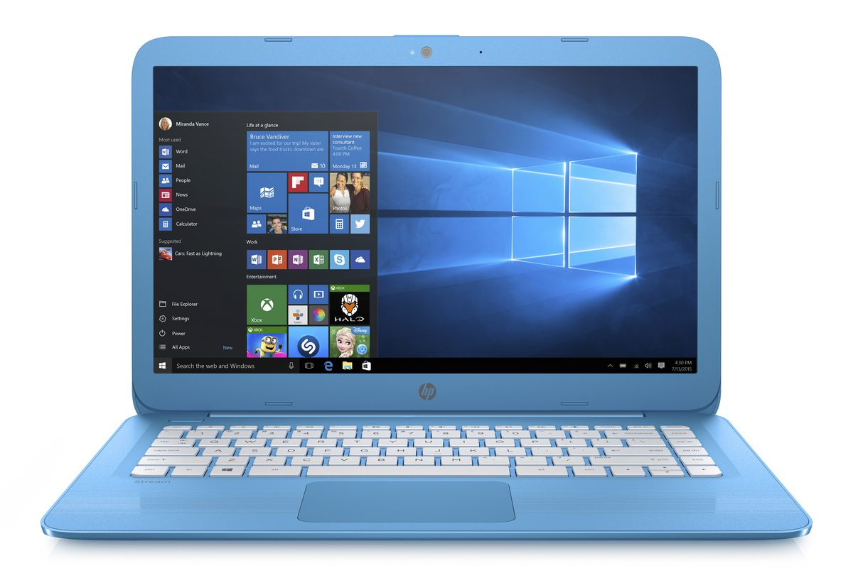 hp u0026 39 s new cloud-optimized laptops are cheap pcs with little ram and storage
