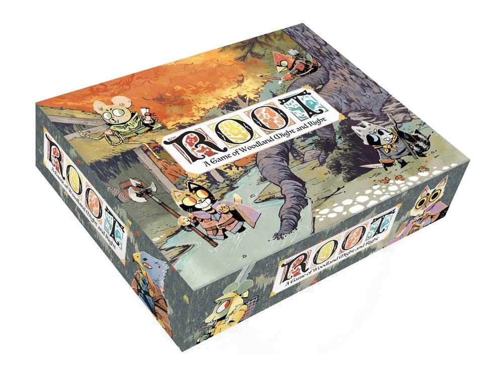 Root box art