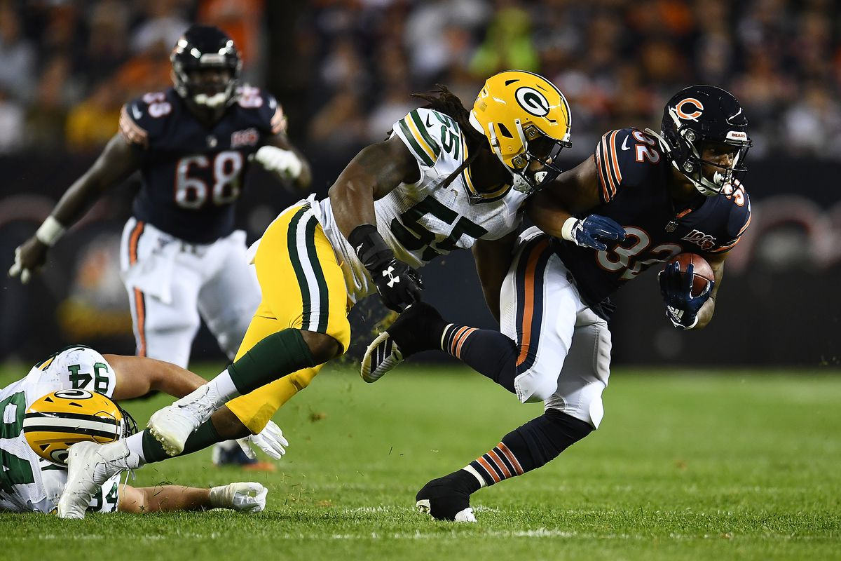 Packers Vs Bears Week 1 2019 Second Half Game Updates