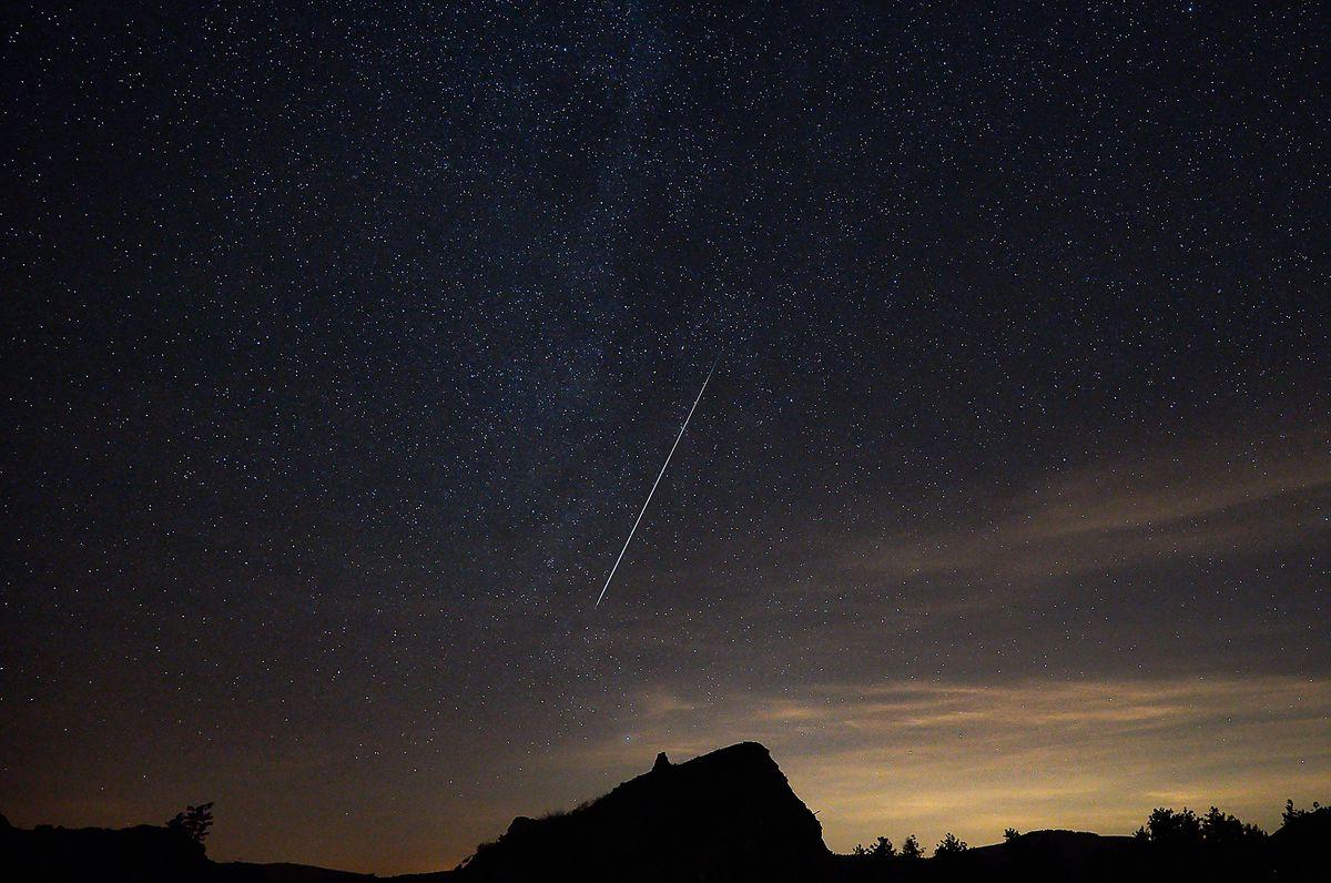 The Geminid meteor shower peaks Thursday night