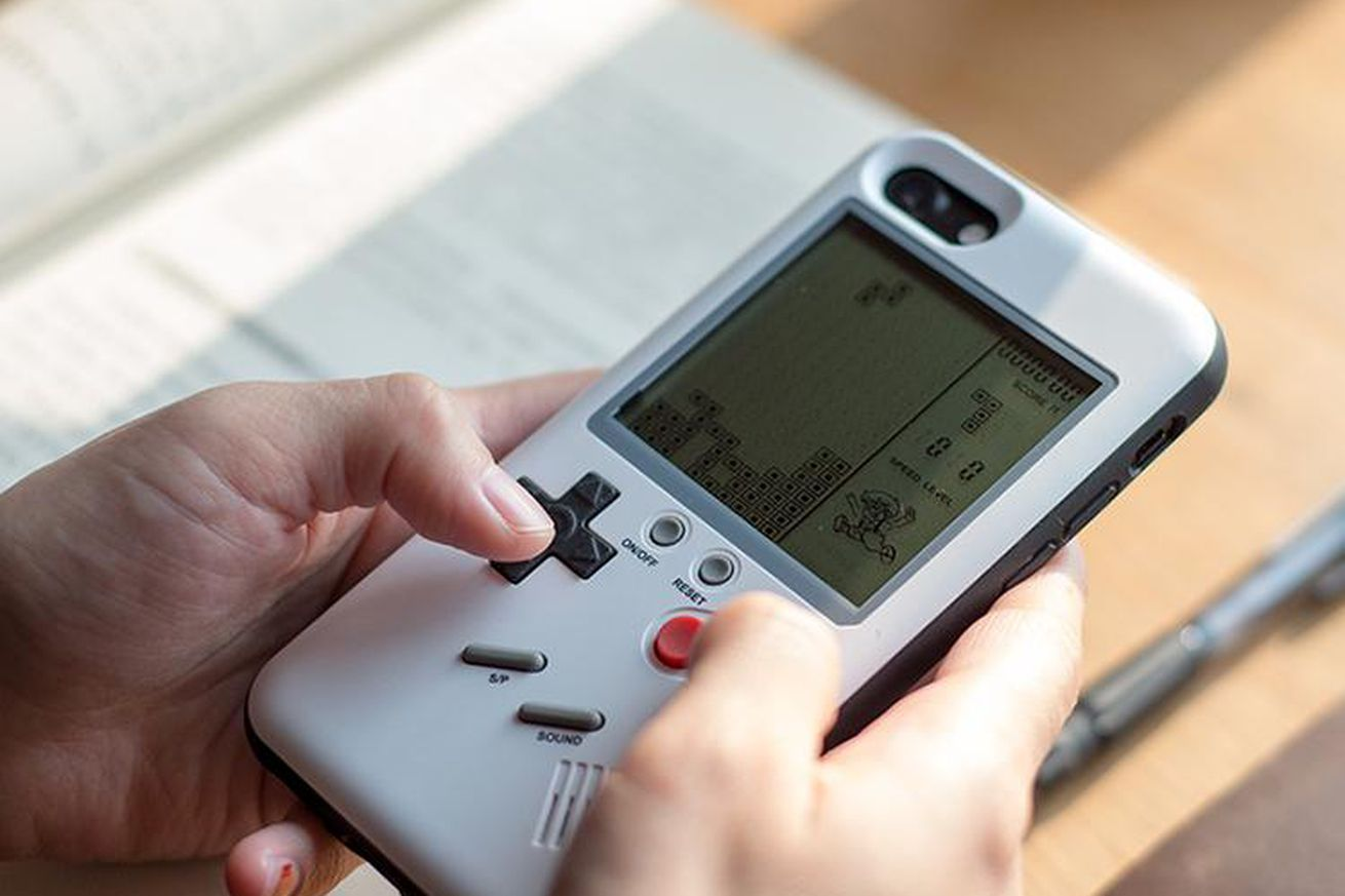This iPhone case turns your phone into a working Game Boy