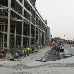 Another view of the west side of the ballpark