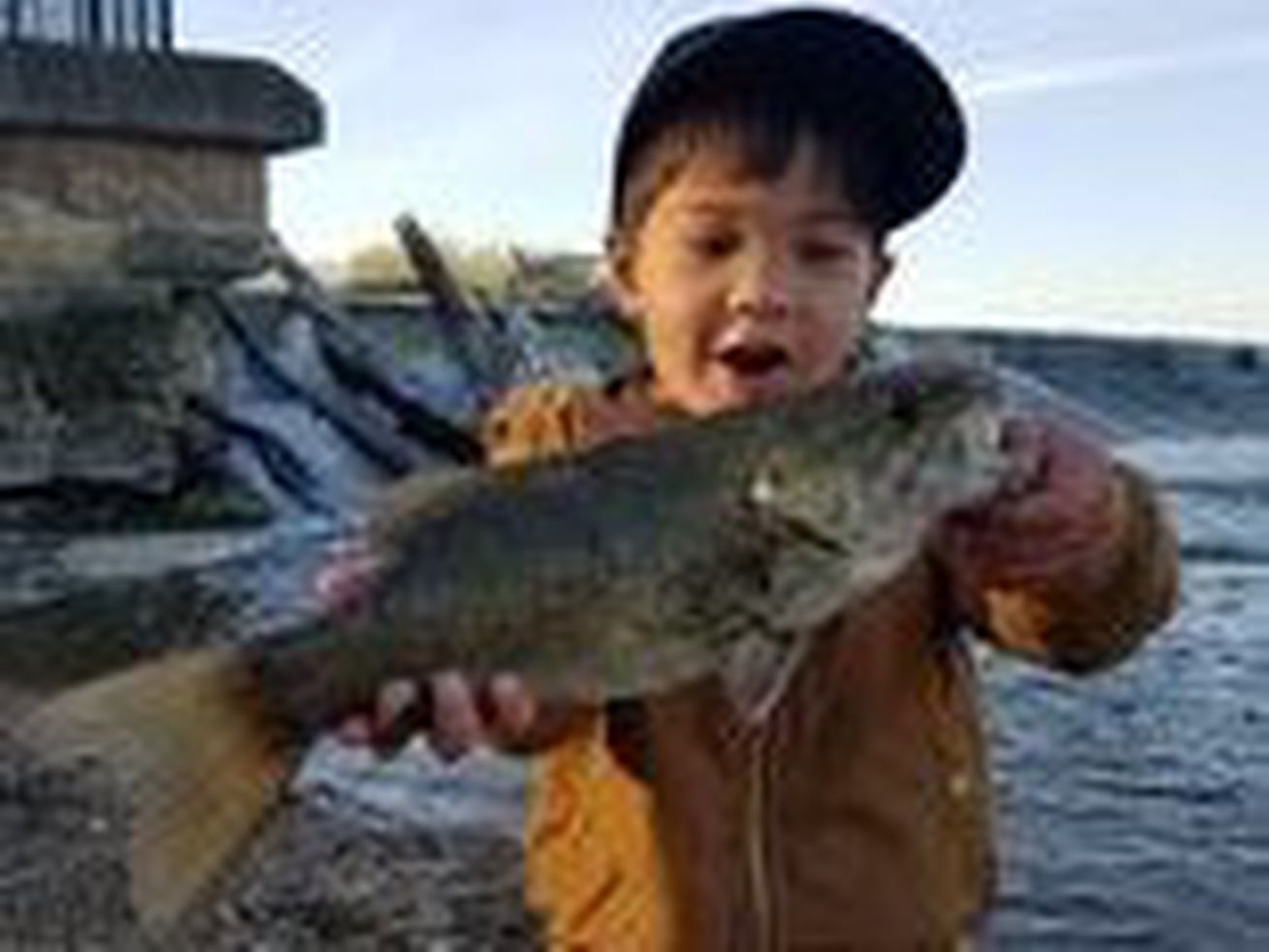 Todd Sanaxay caught his personal-best smallmouth bass to share Fish of the Week. Provided photo