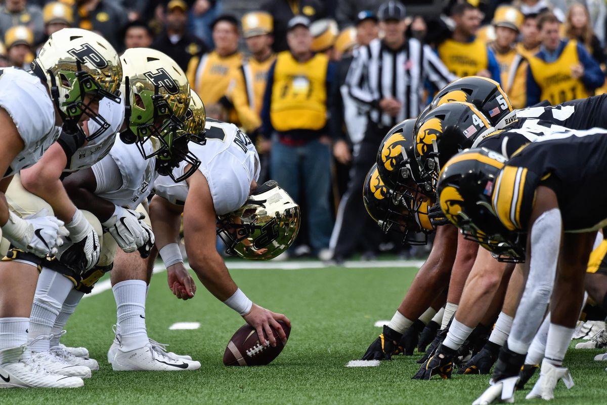 NCAA Football: Purdue at Iowa