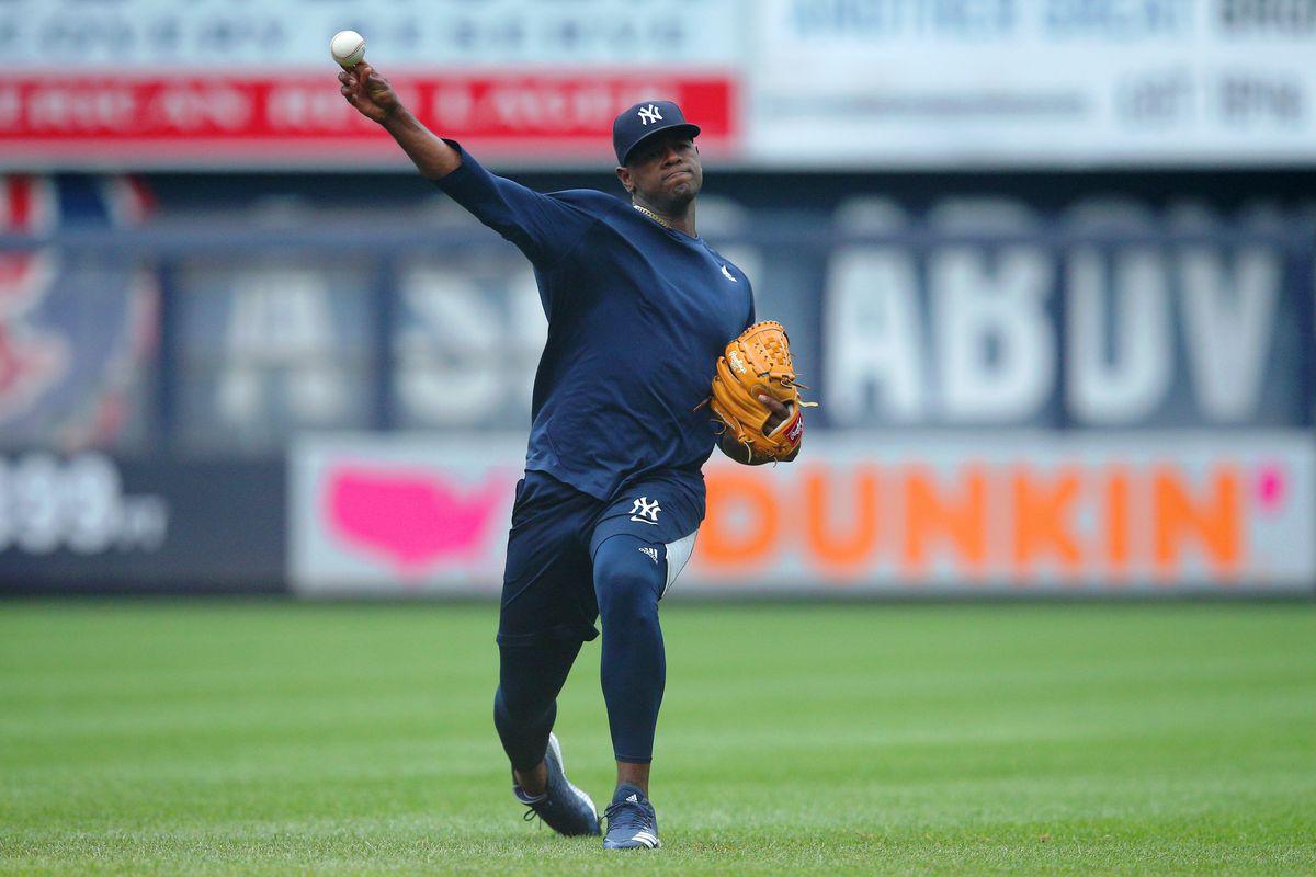 MLB: Tampa Bay Rays at New York Yankees-Game 1
