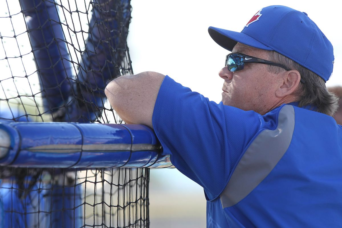 John Gibbons before today's game
