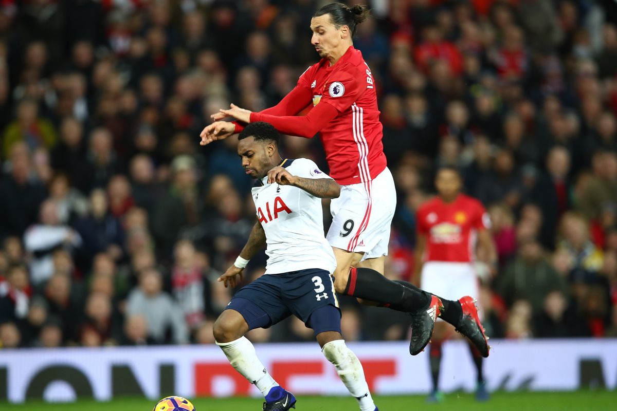 Manchester United 'in driving seat to sign Tottenham Hotspur's Danny Rose'