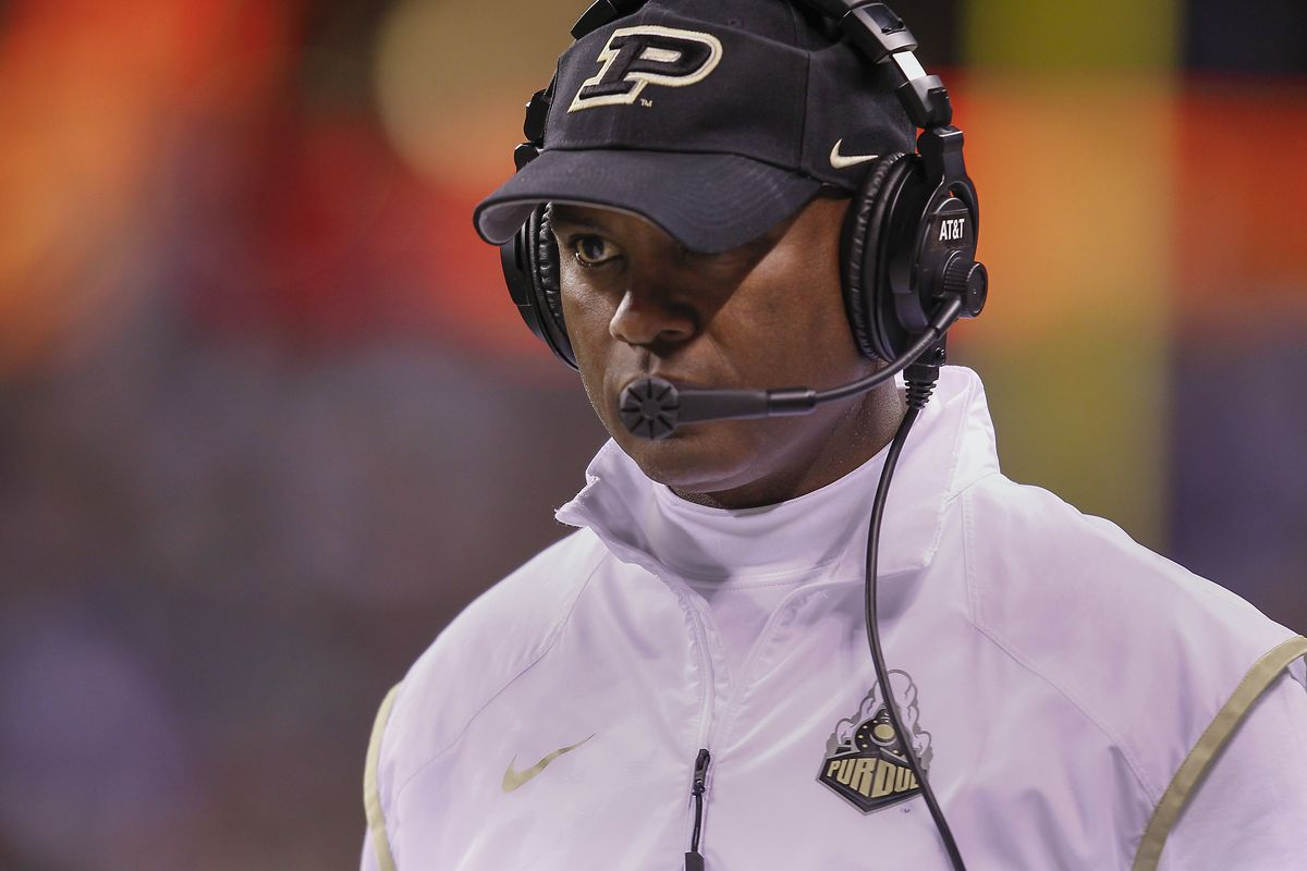 I'll give you $5 if you know who Purdue's coach is.