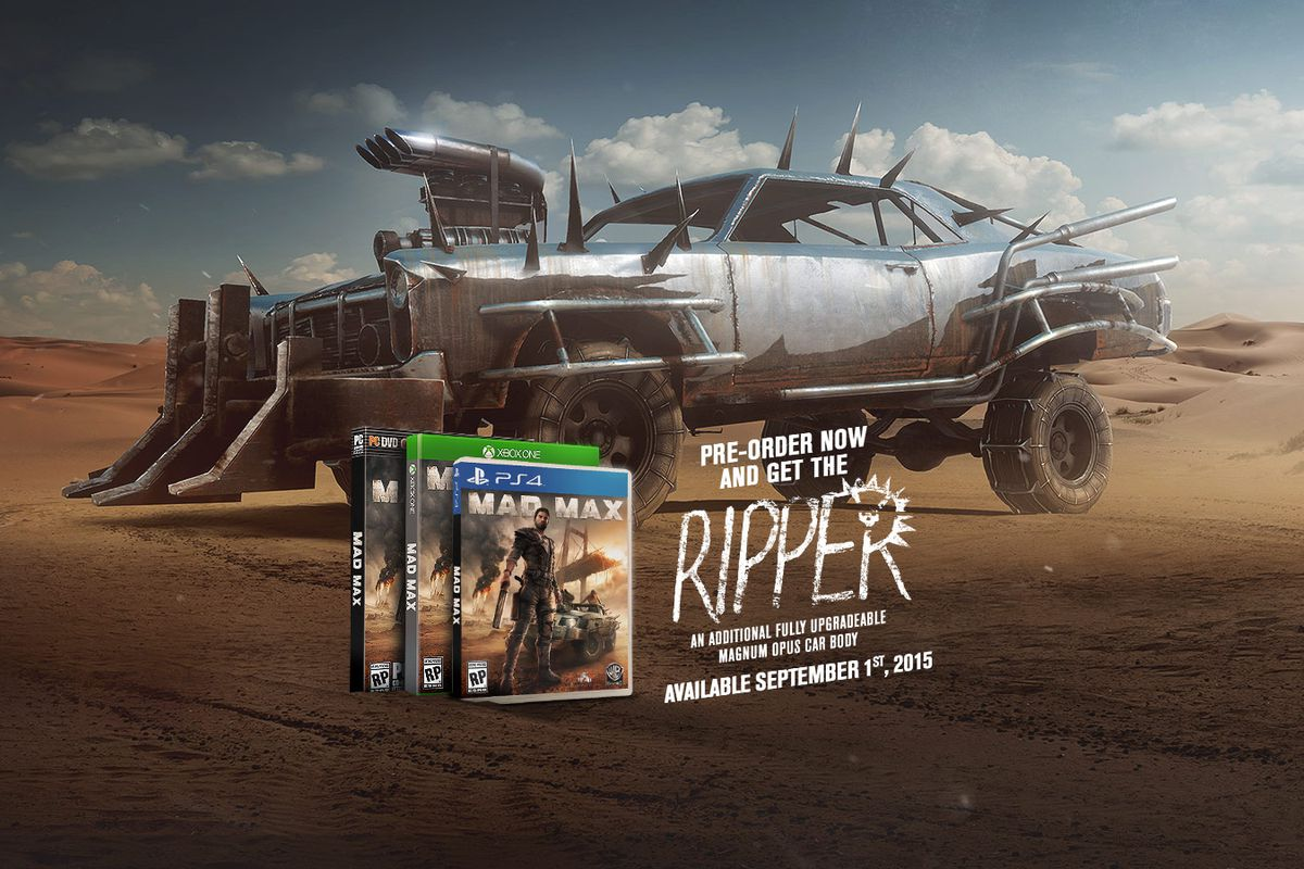 Mad Max Game Canned On Xbox 360 And Ps3 Other Versions