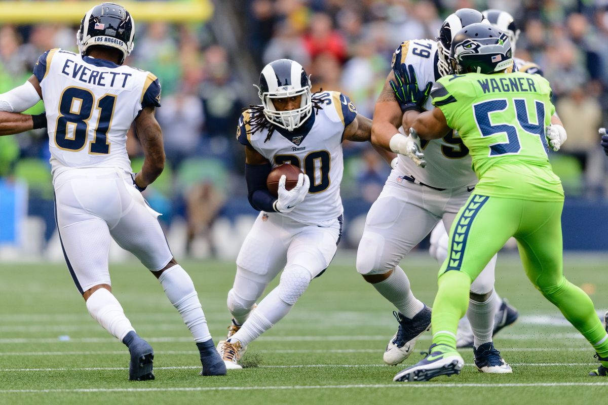 La Rams At Seattle Seahawks Report Card Turf Show Times