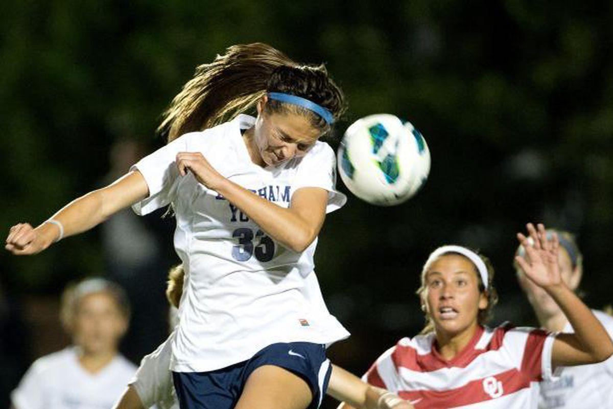 BYU women's soccer takes on Oklahoma
