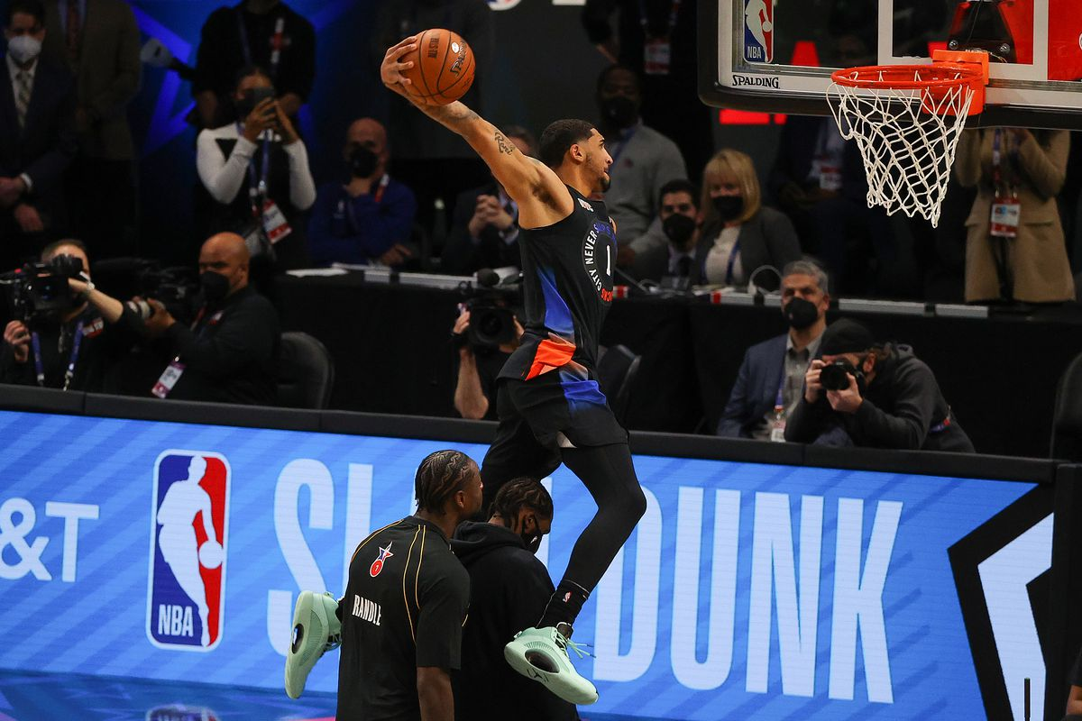 2021 NBA All-Star - AT&T Slam Dunk Contest
