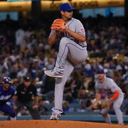 Carlos Carrasco, Mets starting pitcher on Wednesday