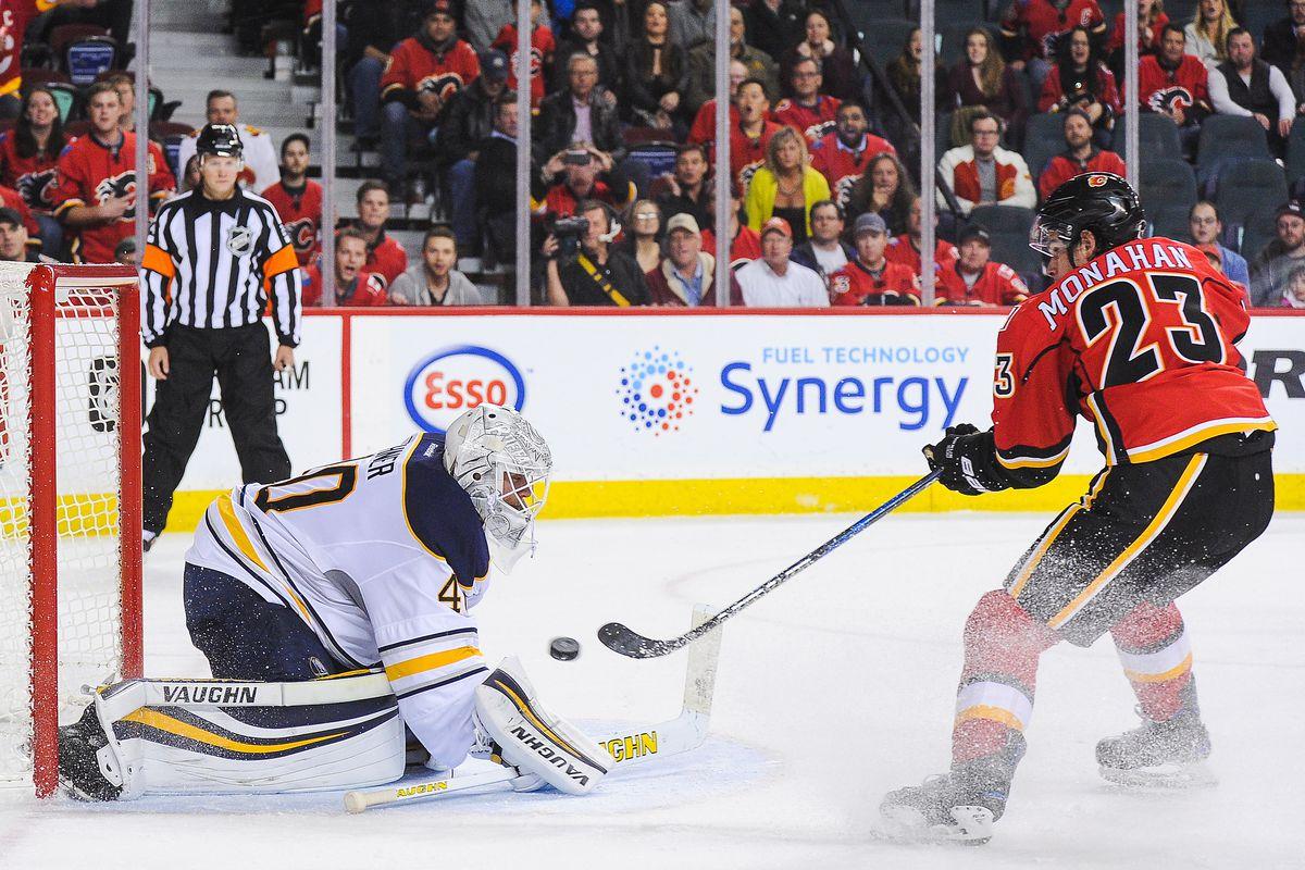 Buffalo Sabres v Calgary Flames