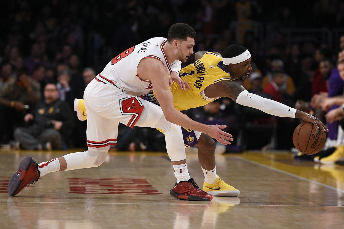 NBA: Chicago Bulls at Los Angeles Lakers