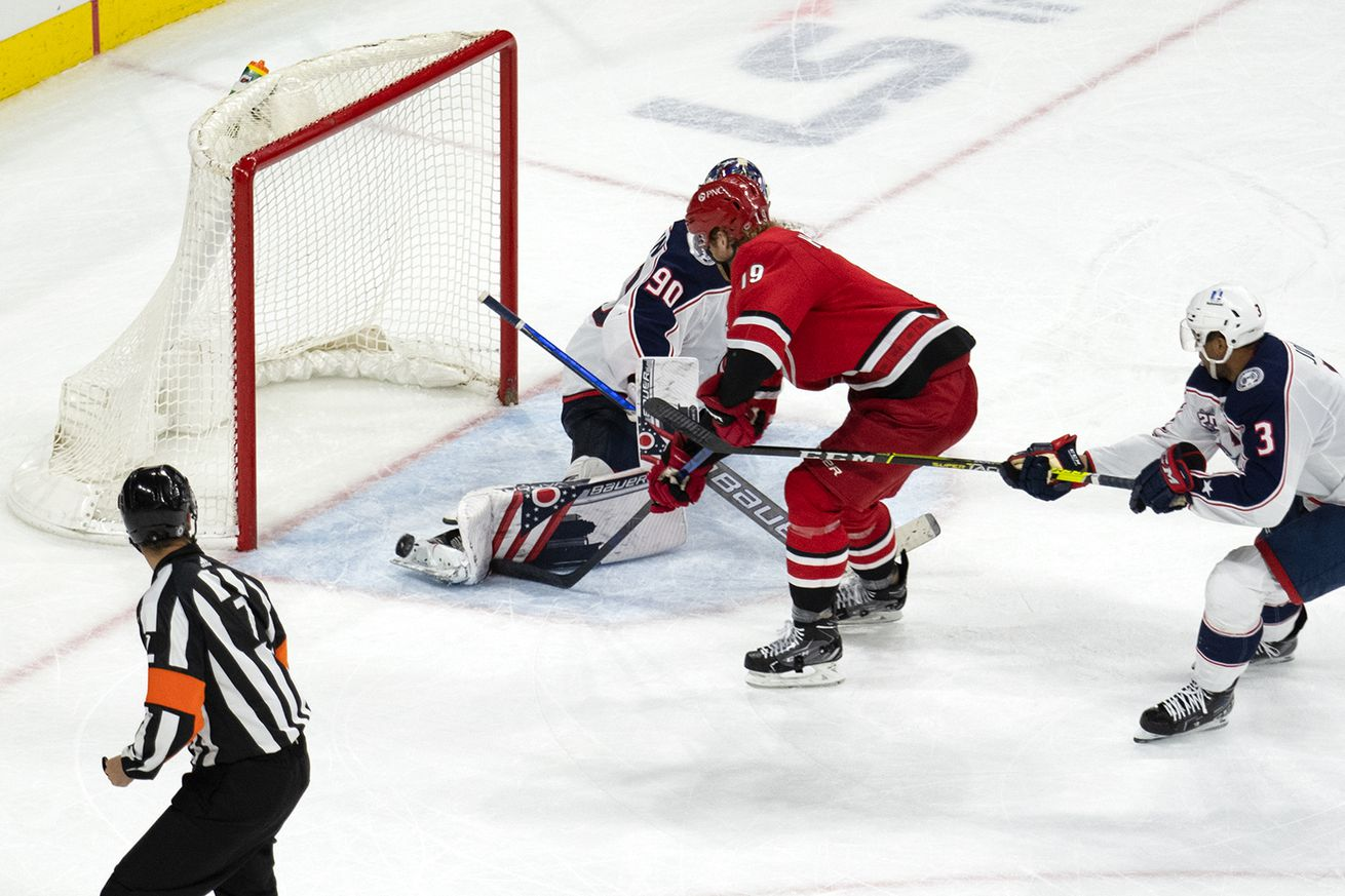 They Said It: Brind'Amour, Hamilton, Nedeljkovic, and Slavin on overtime win