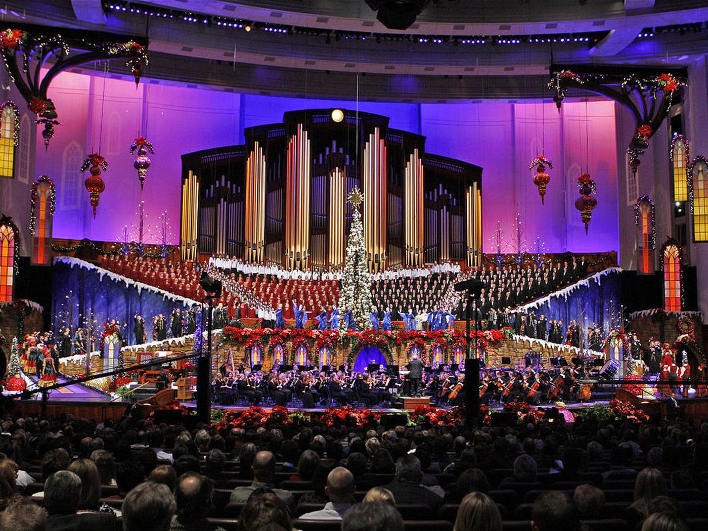 2021 Mormon Tabernacle Choir Christmas Concert The Tabernacle Choir Is Changing The Process For Getting Christmas Concert Tickets Here S How It Will Work Deseret News