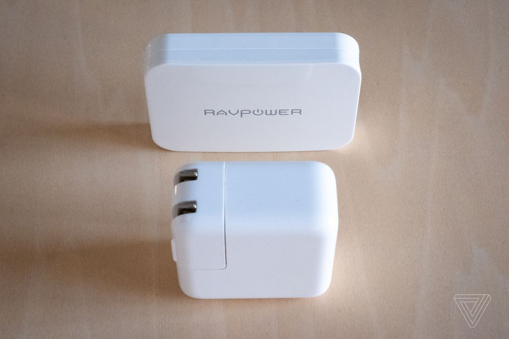RavPower's thin, powerful USB-C wall charger is cheaper for Verge