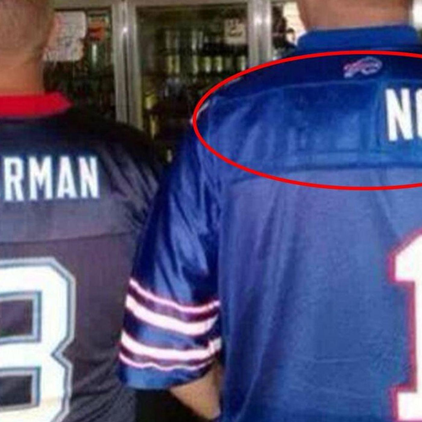 Bills fan sports Wide Right Scott Norwood jersey - SBNation.com