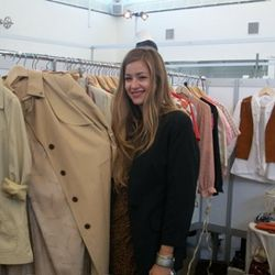 Courtney Lowe of LA Vintage Exchange shows us fall trenches