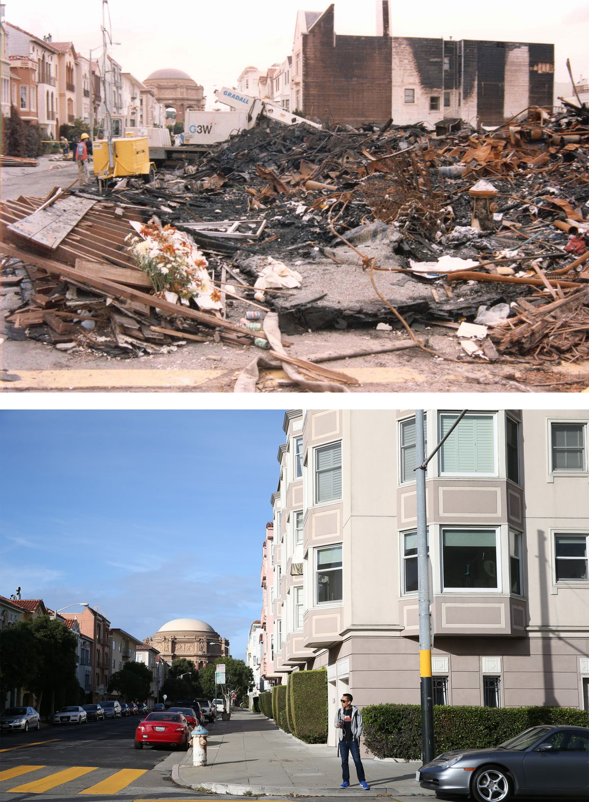 25 Years Since The Bay Area Earthquake: Then And Now