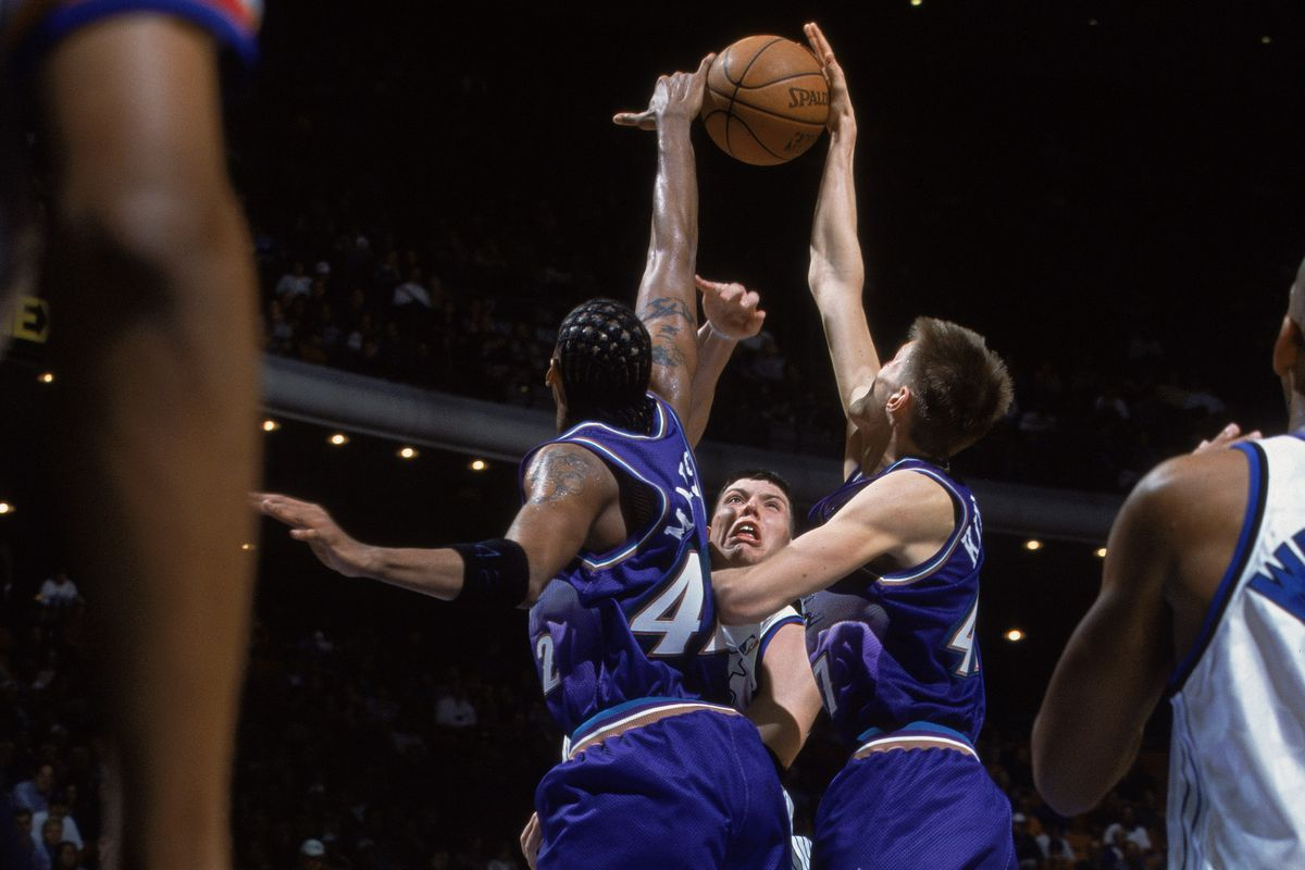 Most blocks in a game by a Utah Jazz player All-Time - SLC Dunk