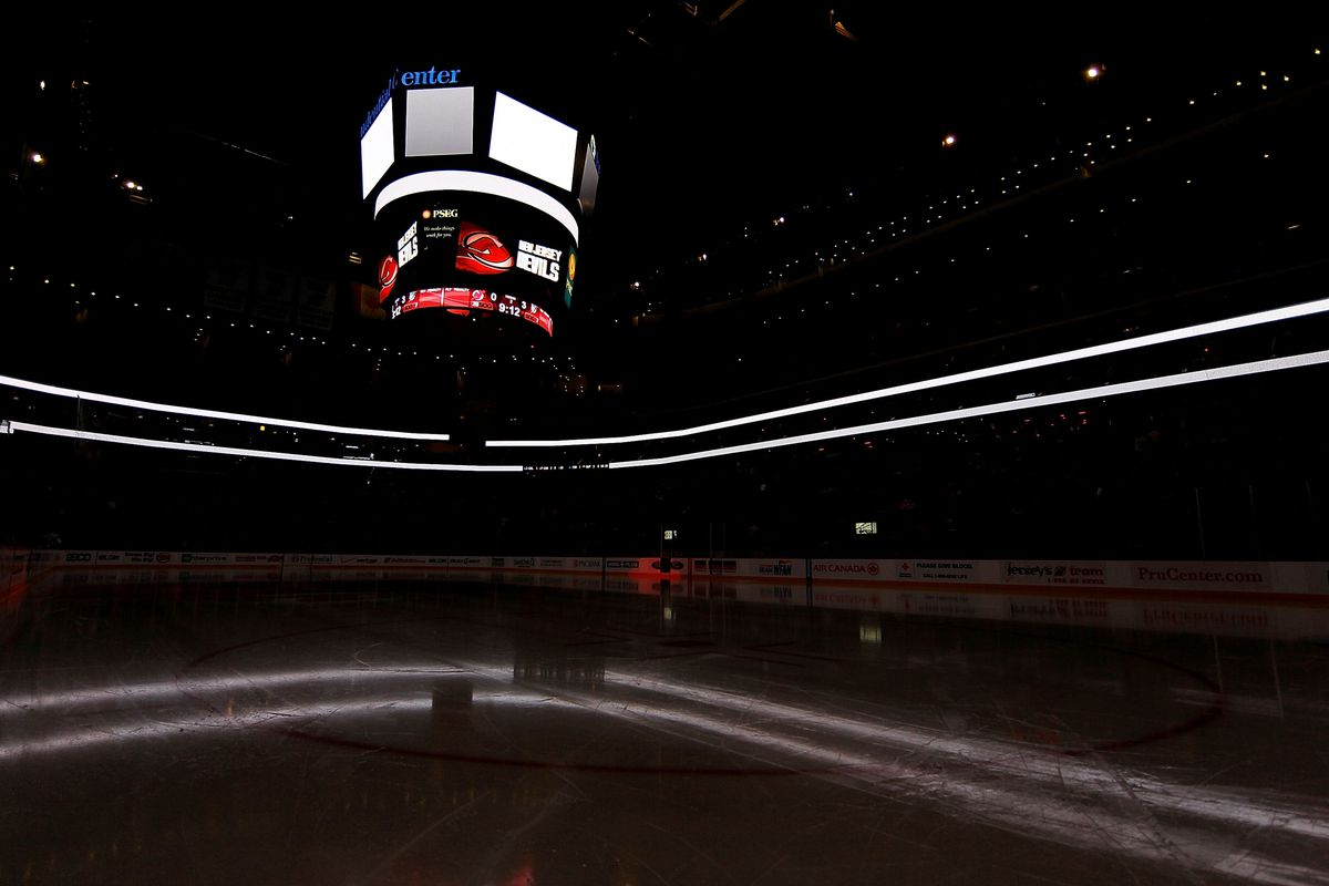In 10 days, this rink will light up and there will be hockey.