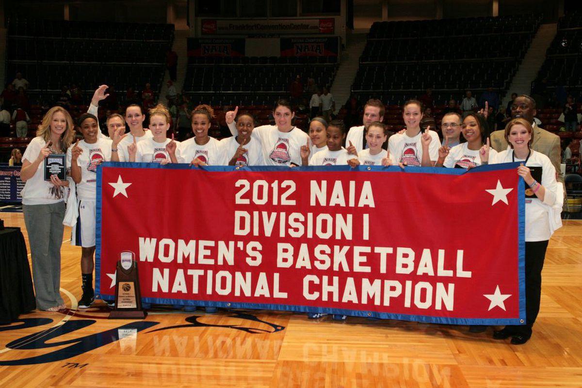 The 35-1 Oklahoma City University Stars raced to the 2012 title in resounding fashion. (via OCU media relations)