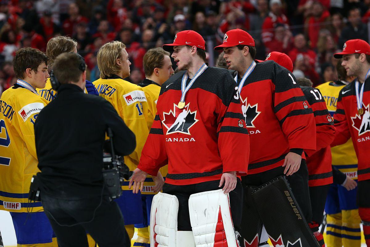 Canada v Sweden: Gold Medal Game - 2018 IIHF World Junior Championship