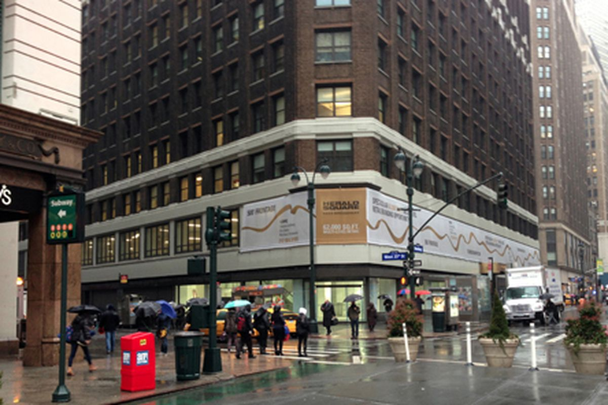 """3 Herald Square, via <a href=""""http://www.fashionherald.org/2013/02/retail-rumors-urban-outfitters-coming.html"""">Fashion Herald</a>"""