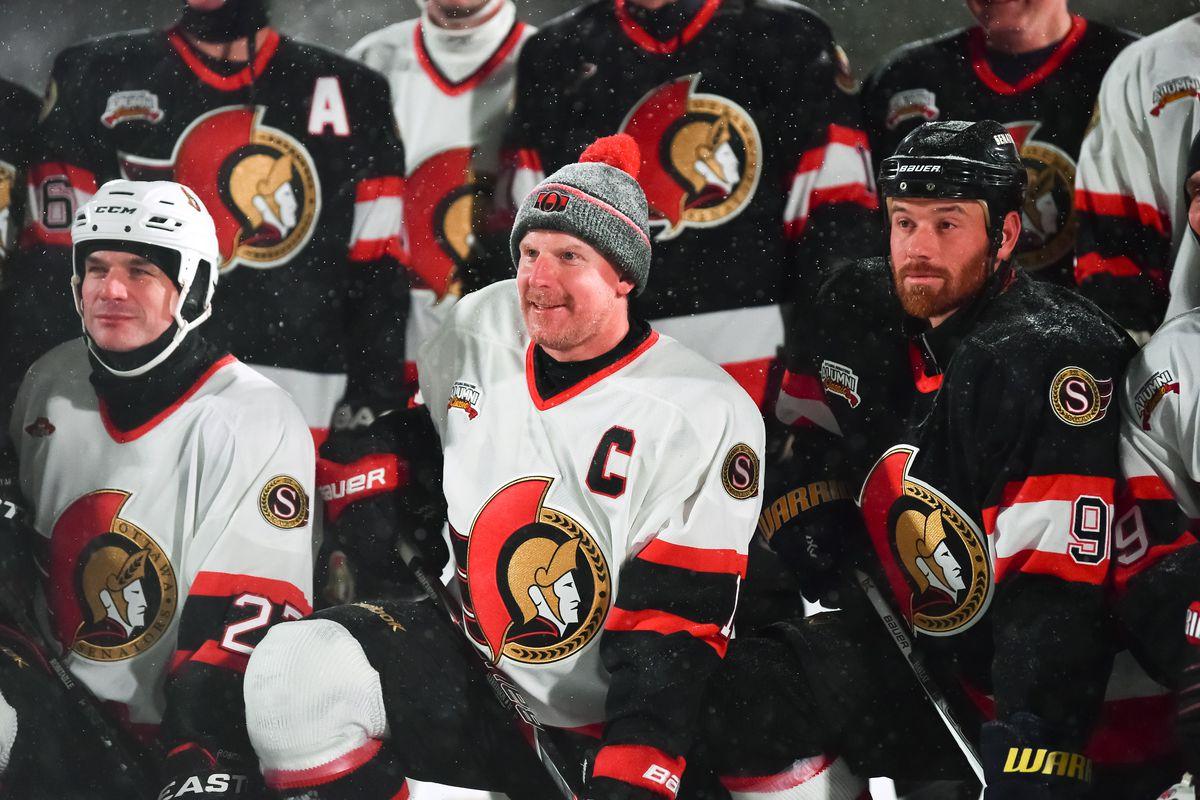 2017 Scotiabank NHL100 Classic - Ottawa Senators Red-White Alumni Game
