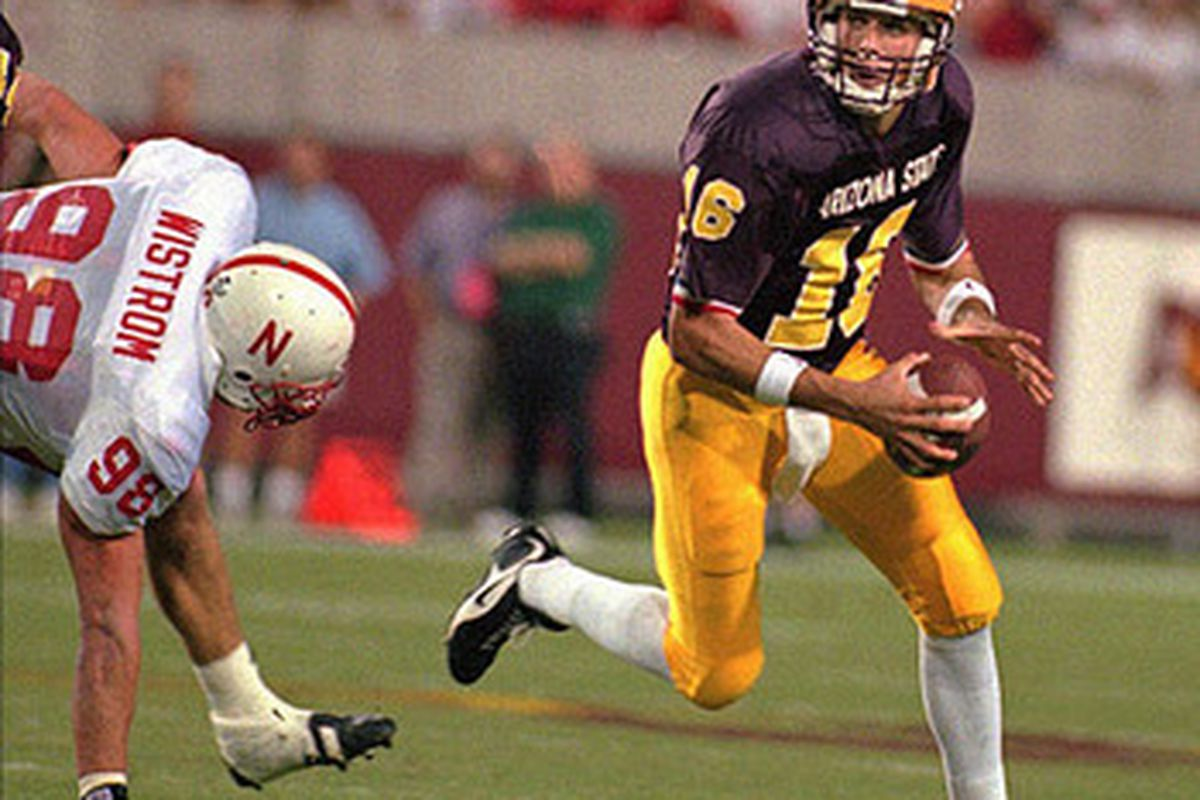 Can Jake pull out the upset win? (Photo: ASU)