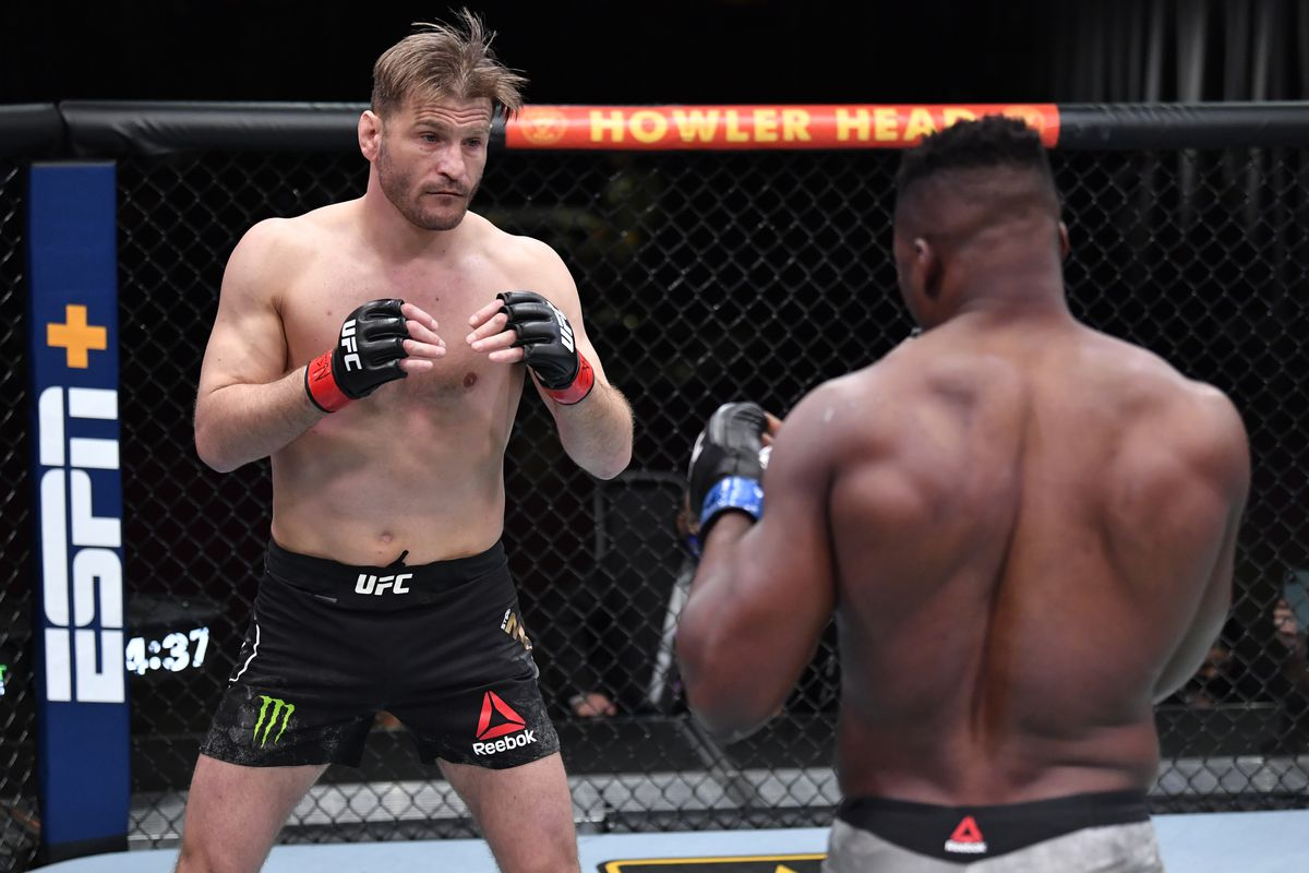 I hate letting you down' - Stipe Miocic releases statement following KO loss to Francis Ngannou - Bloody Elbow