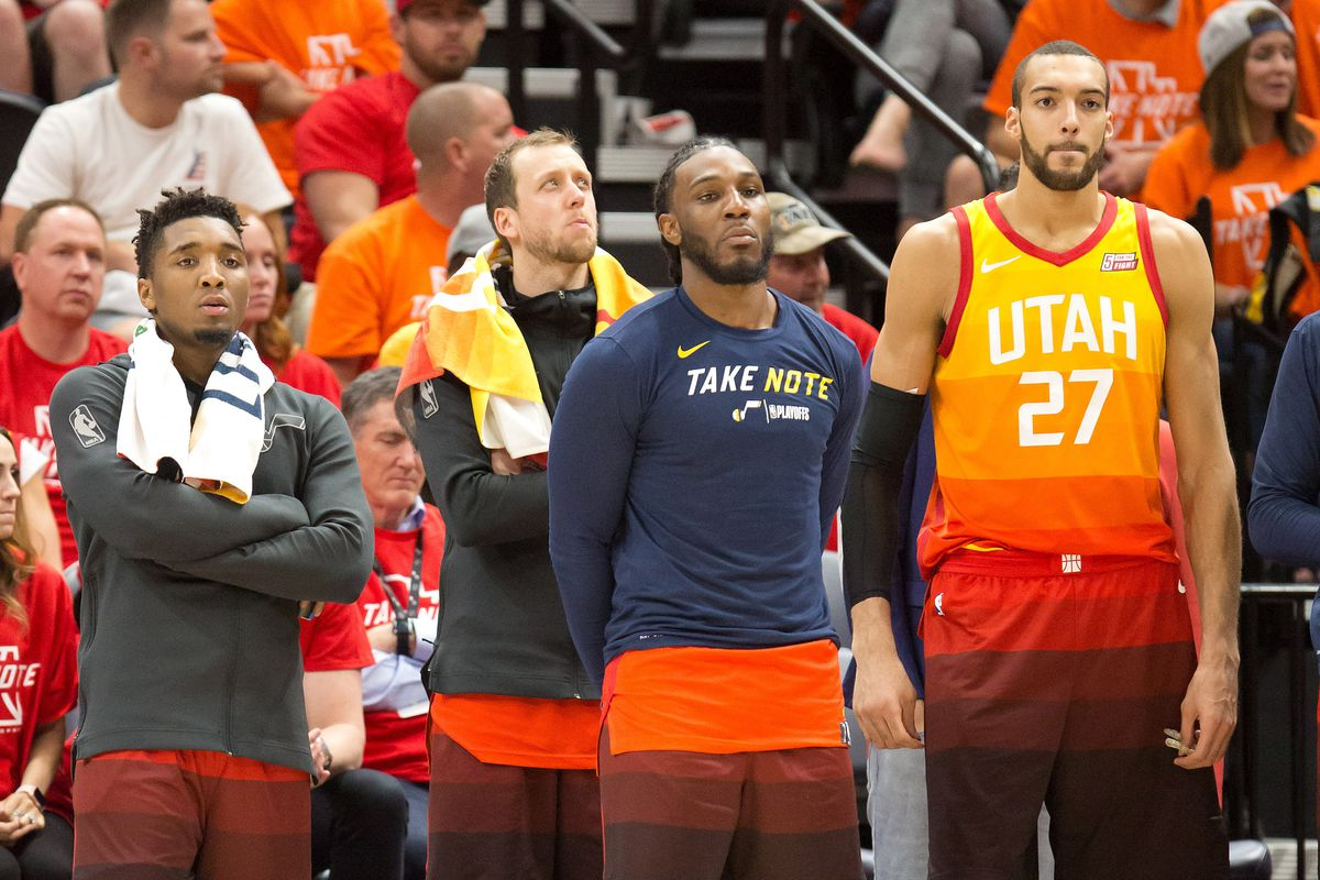 How are the Utah Jazz going to improve from last season  By doing nothing. 29e731902b6f