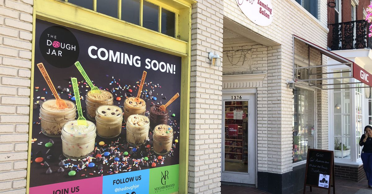 The Cookie Jar Dc Inspiration Edible Cookie Dough By The Jar Is Coming To Georgetown Eater DC