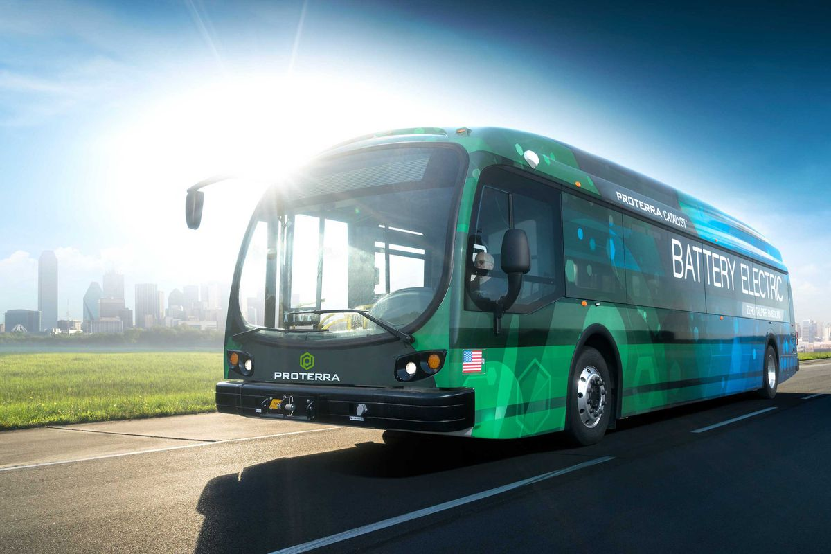 The company says the new bus set a record for electric vehicles