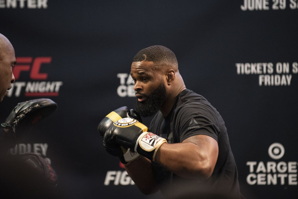 UFC Open Workouts in Minneapolis