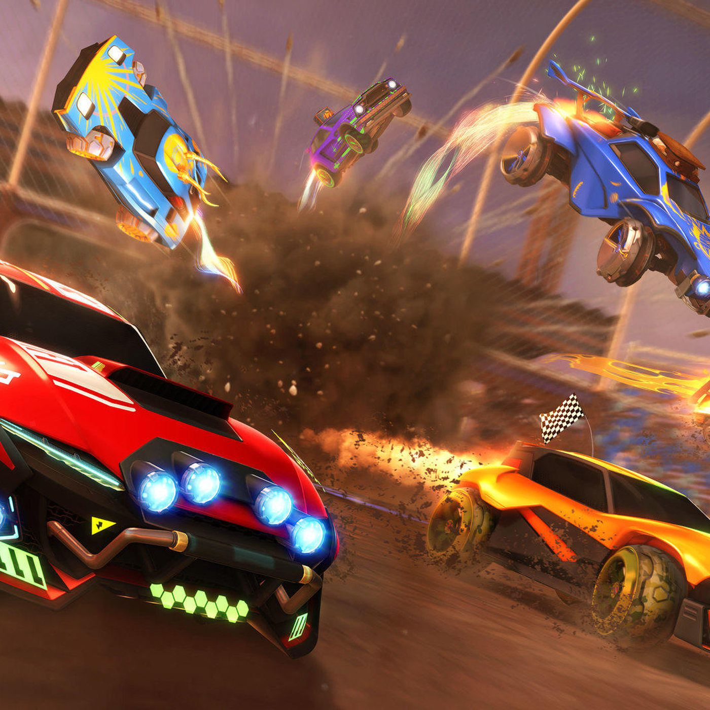 Rocket League Goes Free To Play This Summer Leaving Steam For Epic Games Store Polygon