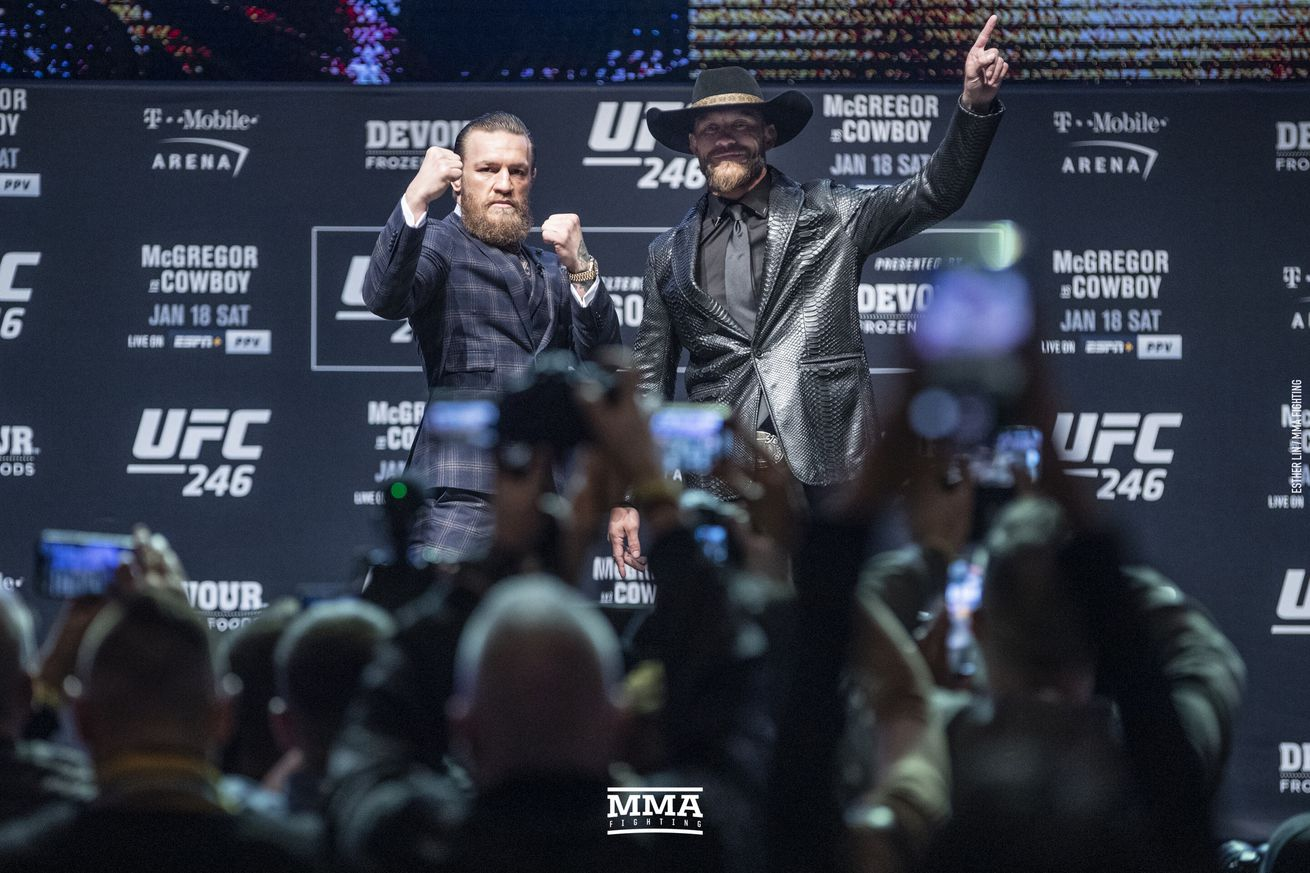 Video: UFC 246 press conference reaction
