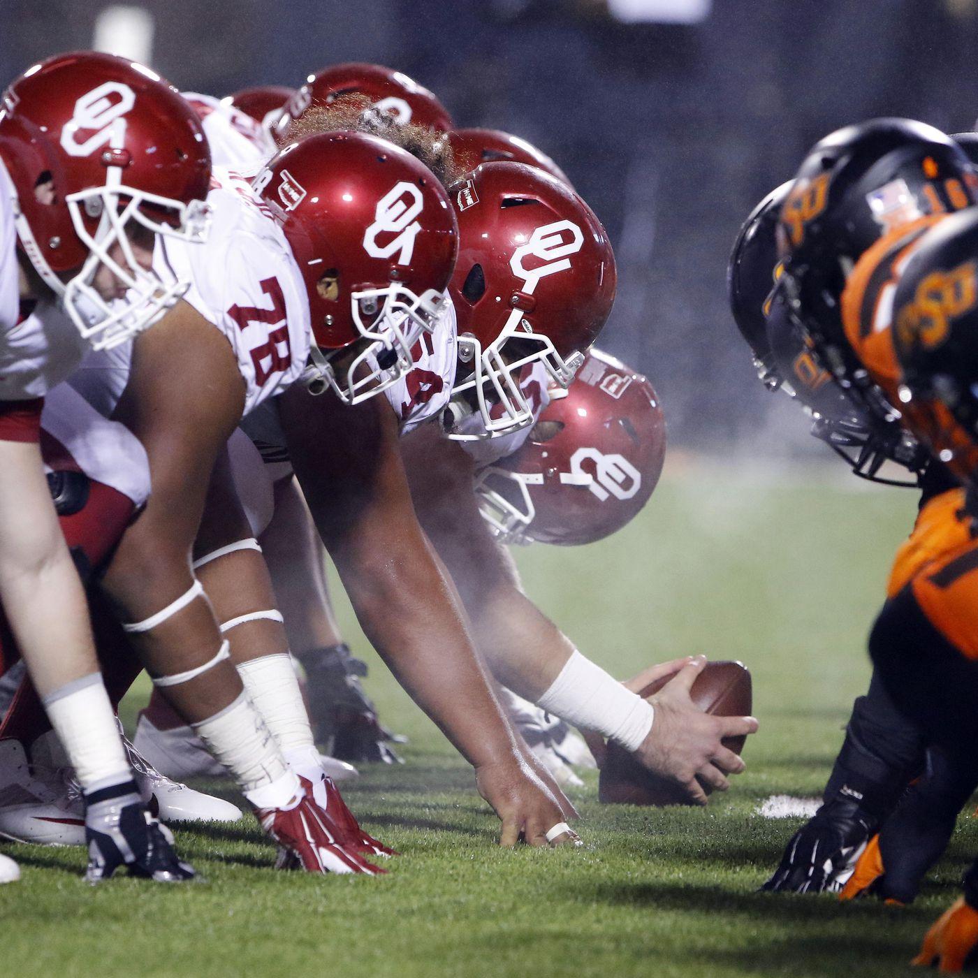 Oklahoma Sooners 2016 NCAA football pocket schedule